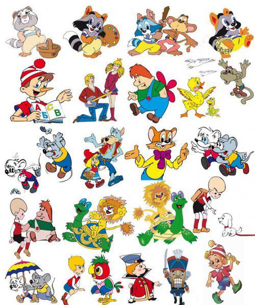 Советские мультфильмы и какие герои