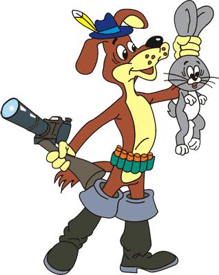 Мультфильм Приключения Дяди Федора, Пёс Шарик с зайцем и фоторужьём