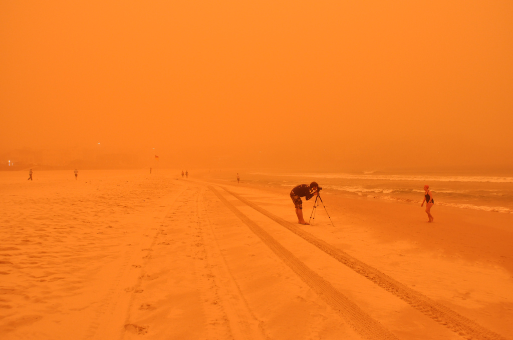 Фотографии песчаных бурь