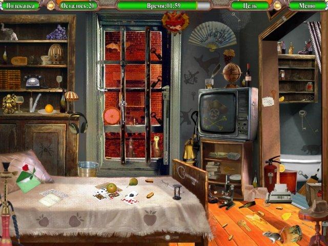 Онлайн игра жанра Я ищу - Тайны Города N