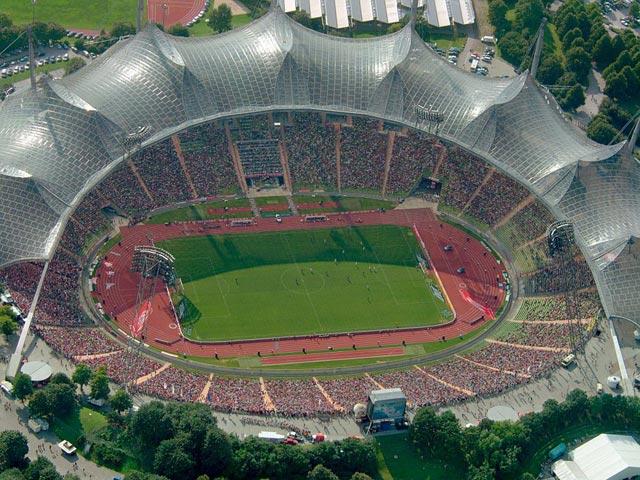 Фотография стадиона сверху