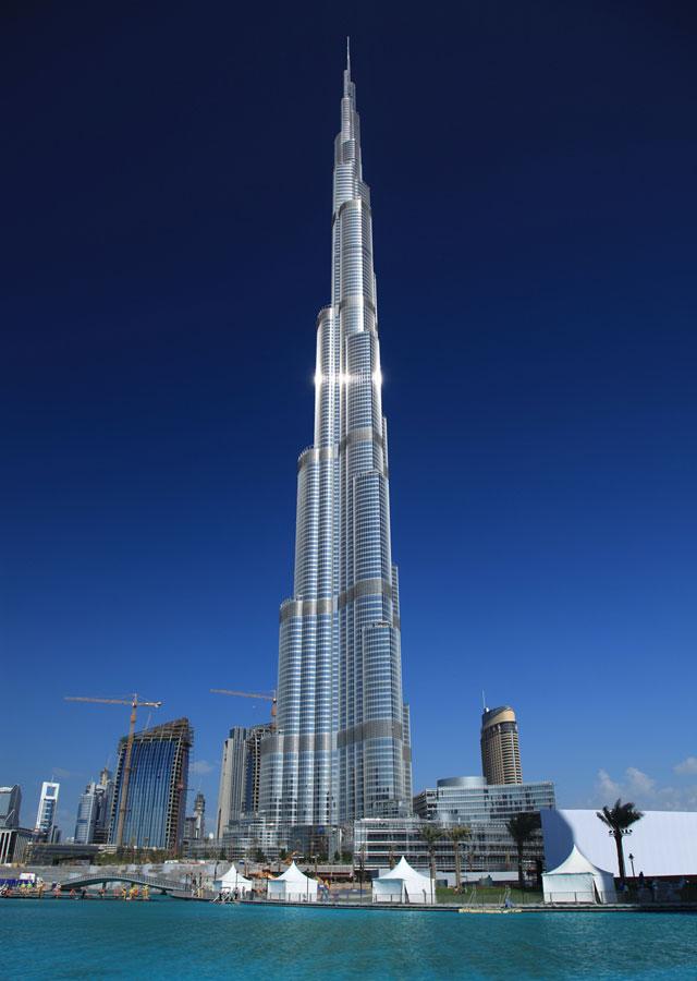 Бурдж Дубай (Бурдж Халиф) - самое высокое здание мира