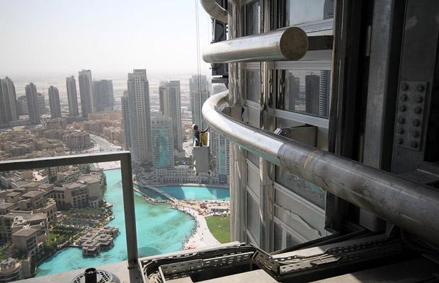 Строительство Бурдж Дубай (Бурдж Халиф)