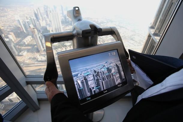 Смотровая площадка Бурдж Дубай (Бурдж Халиф)