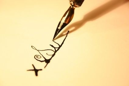 Подпись и характер